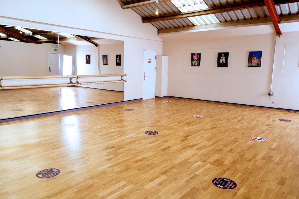 dance studio in staffordshire