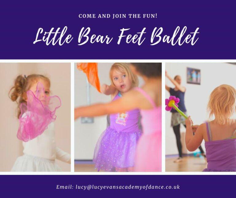 lucy evans little bear feet ballet